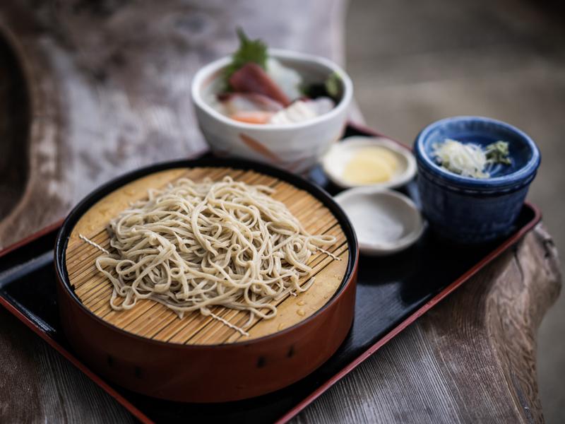 蕎麦喜楽 楓庵のランチ