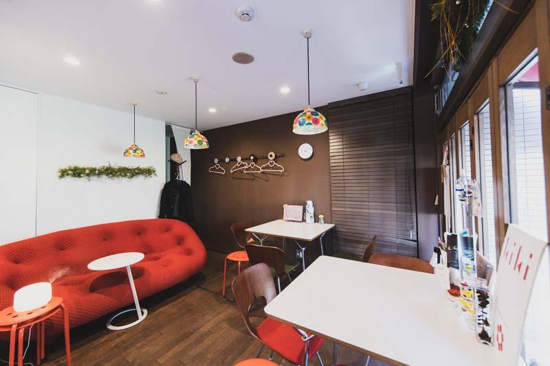 kiki Cafe&barの内観