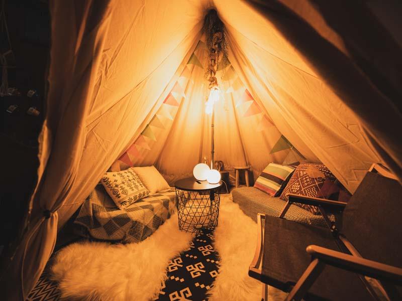 365BASE屋内テント