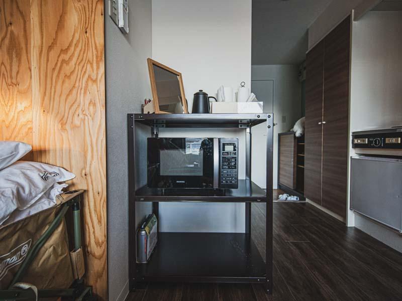 365BASE個室の備品