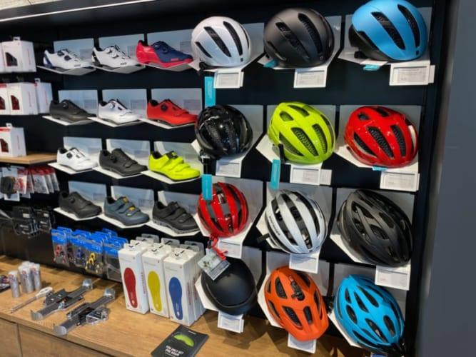 TREKBicycle浜松のヘルメット